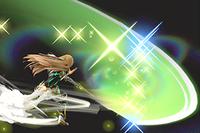 Vista previa de Ruina Relámpago en la sección de Técnicas de Super Smash Bros. Ultimate