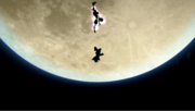 Greninja usando Técnica Floral Ninja (4) SSB4 (Wii U).png
