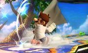 Dr. Mario usando Super Sábana en SSB4 (3DS).jpg