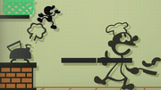 Créditos Modo Leyendas de la lucha Mr. Game & Watch SSB4 (Wii U).png