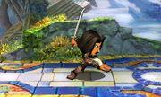 Burla lateral Espadachín Mii SSB4 (3DS) (2).JPG