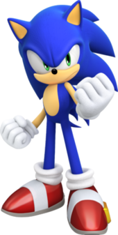 Art oficial de Sonic the Hedgehog en Sonic Forces