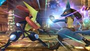 Greninja contra Lucario SSB4 (Wii U).png