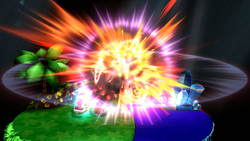 Estallido Dedede en Super Smash Bros. para Wii U