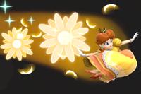 Vista previa de Bomba Daisy en la sección de Técnicas de Super Smash Bros. Ultimate