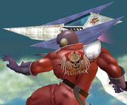 Captain Falcon y un Arwing SSBM.jpg
