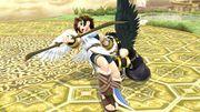 Lanzamiento hacia atrás Pit SSB4 Wii U.jpg
