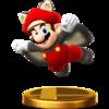 Trofeo de Mario ardilla voladora SSB4 (Wii U).png