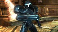 Samus Oscura en Super Smash Bros. para Wii U
