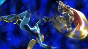 Ike realizando el Aether SSB4 (Wii U).png