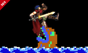 Ike en el escenario Balloon Fight SSB4 (3DS).png