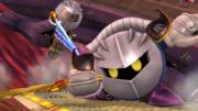 Meta Knight y un Luchador Mii en el Hal Abarda SSB4 (Wii U).png