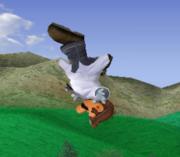 Ataque aéreo hacia arriba de Dr. Mario SSBM.png