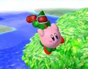 Lanzamiento delantero de Kirby (2) SSBM.png