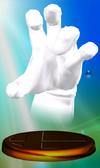 Trofeo de Crazy Hand SSBM.png