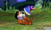 Burla hacia arriba de Dúo Duck Hunt SSB4 (3DS).jpg