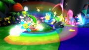 Kirby usando Gran Espada (1) SSB4 (Wii U).png