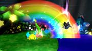 Kirby usando Gran Espada (4) SSB4 (Wii U).png