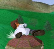 Ataque fuerte hacia abajo de Dr. Mario SSBM.png