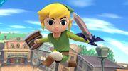 Toon Link mirando directamente a la pantalla SSB4 (Wii U).jpg
