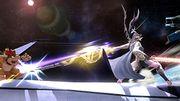 Corrin atacando a Bowser en la Estacion Espacial SSB4 (Wii U).jpg