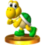 Trofeo de Koopa Troopa (verde) SSB4 (3DS).png
