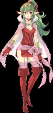 Art oficial de Tiki: La Voz de Naga en Fire Emblem Heroes