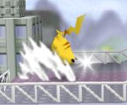 Ataque Smash hacia arriba de Pikachu SSB.png