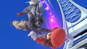 Devil Kazuya y Mario en Torre Prisma SSBU.jpg