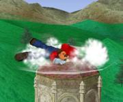 Ataque Smash hacia abajo de Mario (2) SSBM.png