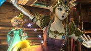 Zelda, Estela y Destello en la Central Geotérmica SSB4 (Wii U).jpg