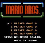 Pantalla de titulo de Mario Bros. (NES).jpg