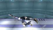 Ataque Smash hacia abajo Sheik SSBB (3).png