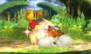 Lanzamiento trasero del Dúo Duck Hunt SSB4 (3DS).jpg