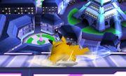 Ataque fuerte inferior Pikachu SSB4 (3DS).JPG