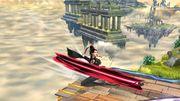 Ataque de Recuperación Desde el Borde Bayonetta SSB Wii U.jpg