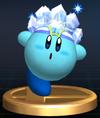 Trofeo de Kirby Hielo SSBB.png
