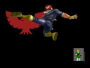 Pose de victoria Captain Falcon B (2) SSBM.png