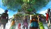 Vista del Yggdrasil en Dragon Quest XI.jpeg