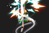 Vista previa de Gancho demoledor en la sección de Técnicas de Super Smash Bros. Ultimate