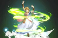 Vista previa de Viento de Farore en la sección de Técnicas de Super Smash Bros. Ultimate