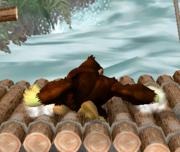 Ataque Smash hacia abajo de Donkey Kong (2) SSBM.png