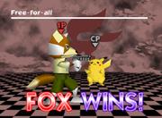 Pose de victoria de Fox (2-1) SSB.png