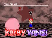 Pose de victoria de Kirby (2-1) SSB.png