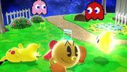 Burla hacia abajo Pac-Man SSB4 (Wii U).jpg