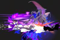 Vista previa de Carga espacial en la sección de Técnicas de Super Smash Bros. Ultimate
