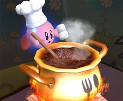 Chef Kirby en Super Smash Bros. Brawl