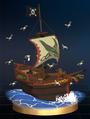 Trofeo de Barco Pirata SSBB.png