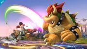 Ataques Smash laterales de Fox y Bowser SSB4 (Wii U).jpg