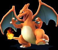 Art oficial de Charizard en Super Smash Bros. para Nintendo 3DS y Wii U